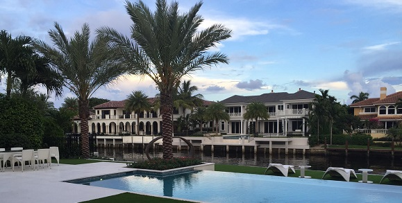 Waterfront Home - 290 S Maya Palm Dr - Boca Raton
